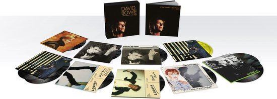DAVID BOWIE - A New Career In a New Town (1977-1982) Vinyl Box