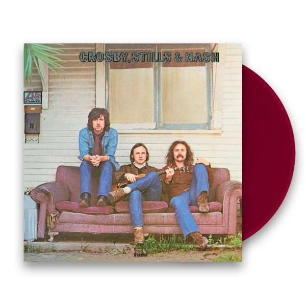 Crosby, Stills & Nash - Crosby, Stills & Nash - Ltd. Edition Burgundy Coloured Vinyl