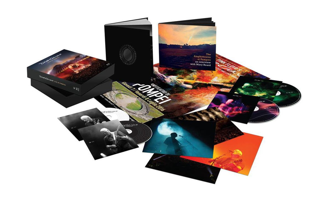 DAVID GILMOUR - Live At Pompeii  2CD /2Blu-Ray Deluxe SET
