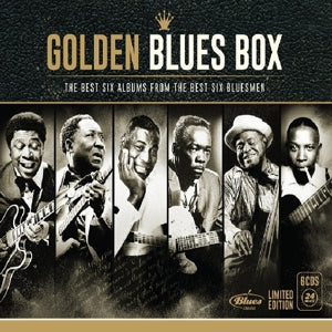 Various Artists - Golden Blues Box - Limited Edition CD Boxset