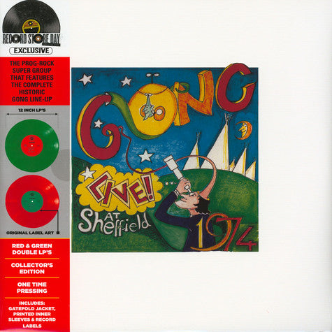 Gong - Live At Sheffield 1974 RSD'20 2LP