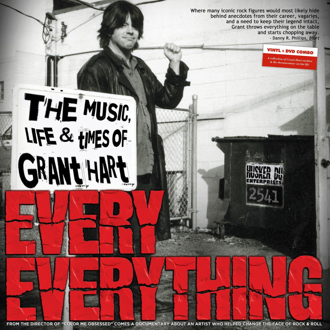 Grant Hart - Every Everything: The Music, Life & Times of Grant Hart - Limited Edition Vinyl + DVD