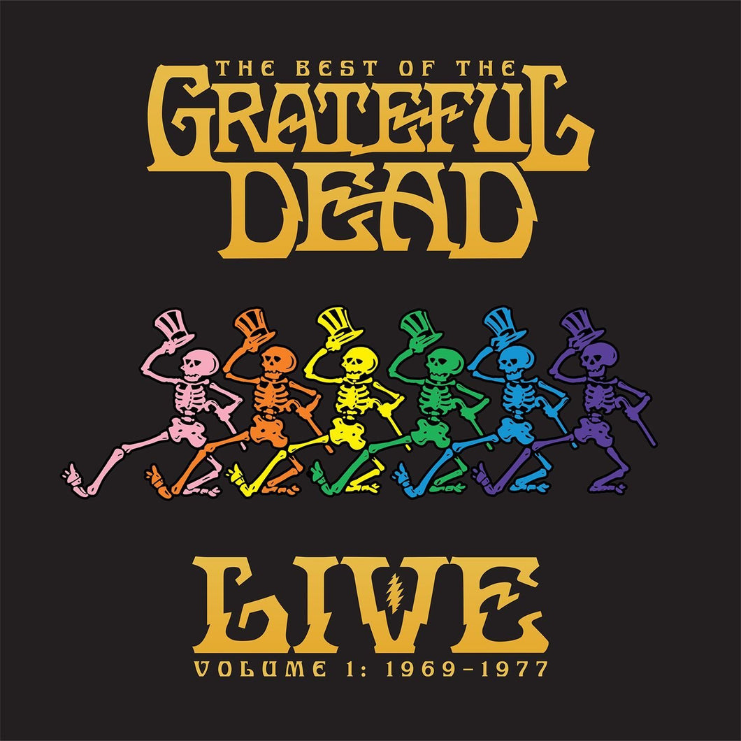 Grateful dead - The Best Of The Grateful Dead Live - Volume 1: 1969-1977 2LP