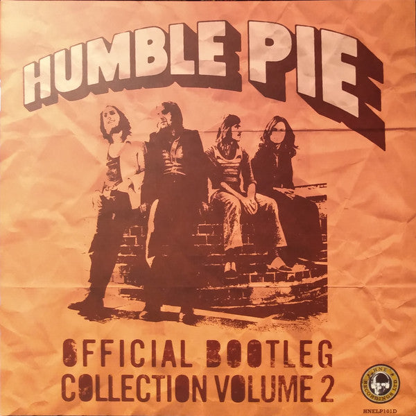 HUMBLE PIE - Official Bootleg Collection Volume 2  RSD 2LP