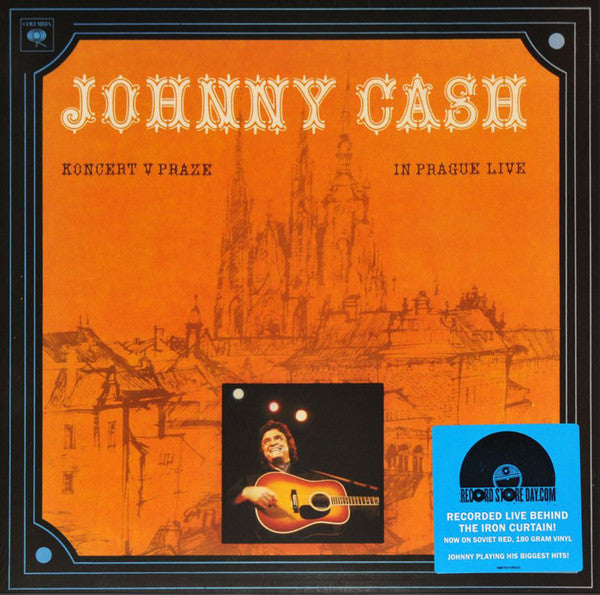 JOHNNY CASH - Koncert V Praze (In Prague Live) RSD RED Vinyl