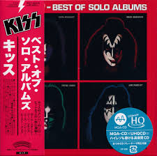 KISS Best of Solo Albums CD Mini LP