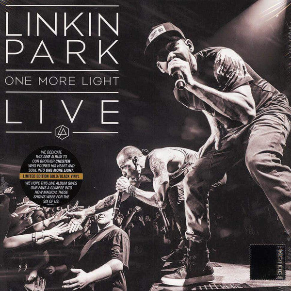 LINKIN PARK - One More Light Live 2LP RSD Numbered Coloured Vinyl