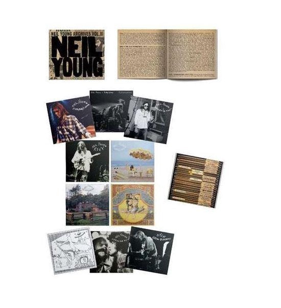 NEIL YOUNG - Archives vol II 1972-1976 10CD Box set