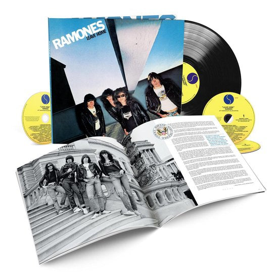 RAMONES - Leave Home Numbered 3CD + LP Book  40th Anniversary Edition