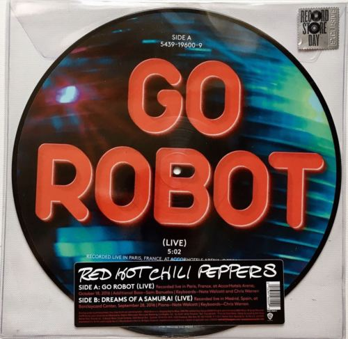 Red Hot Chili Peppers - Go Robot (Live) RSD'17 Picture Disc 12