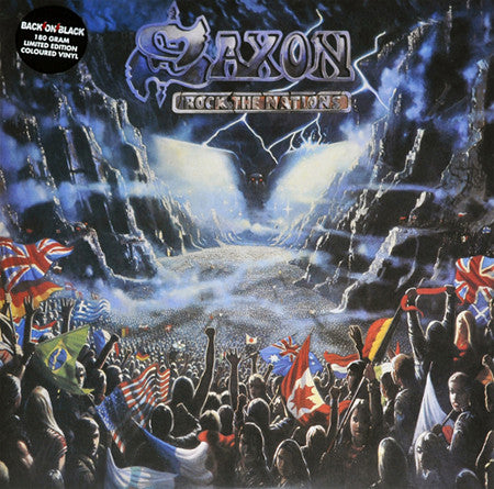 SAXON - Rock the Nations 2LP Coloured Vinyl