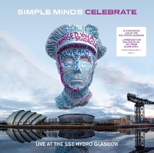 SIMPLE MINDS Celebrate - Live 2LP