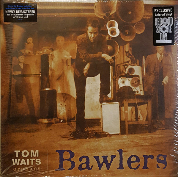 TOM WAITS - Bawlers  RSD 2LP Coloured Vinyl