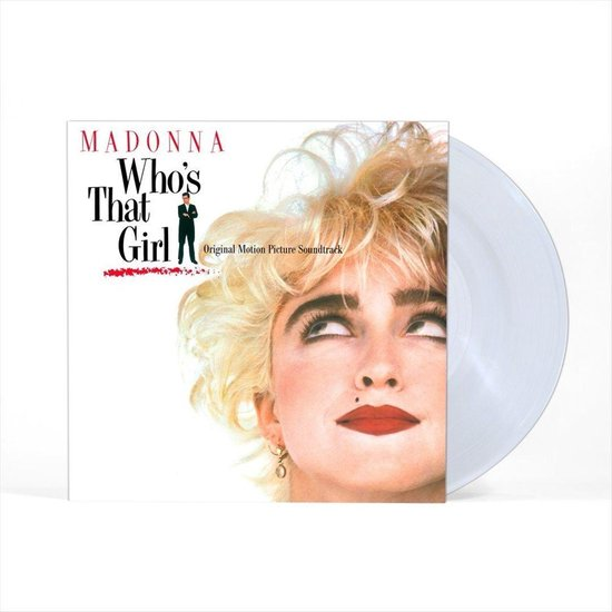 MADONNA - Who's That Girl Clear Vinyl