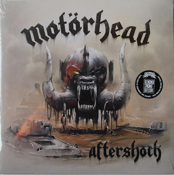 Motörhead - Aftershock Picture Disc RSD numbered