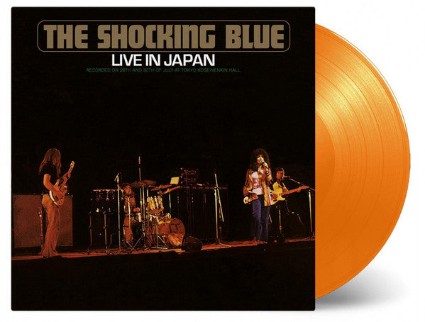 SHOCKING BLUE - Live In Japan Coloured Vinyl