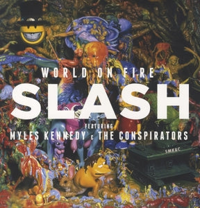 SLASH - World On Fire 2LP