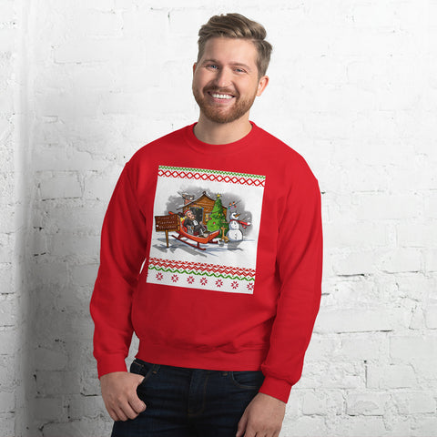 Spurgeon Ugly Christmas Sweatshirt (Red)