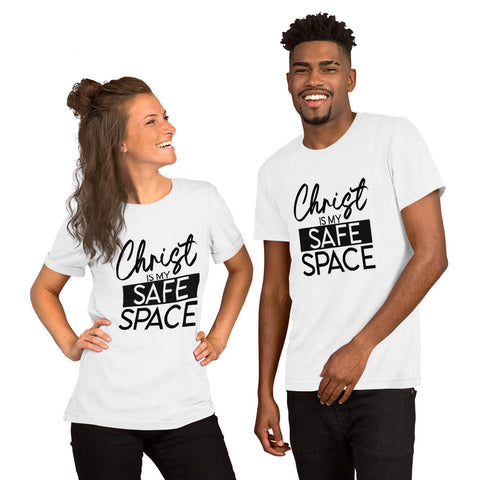 Christ is my Safe Space - Short-Sleeve Unisex T-Shirt