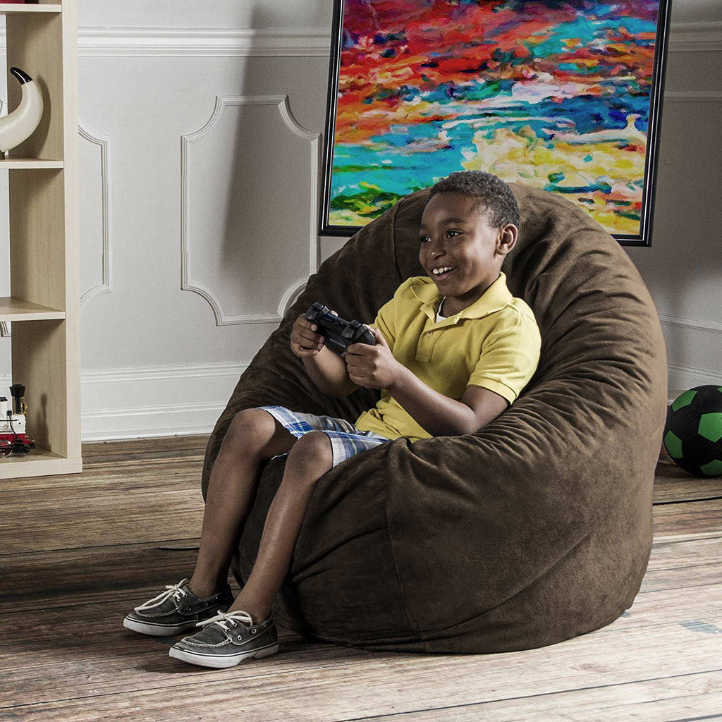 Jaxx 4' Cocoon Kids Bean Bag - Chocolate Brown