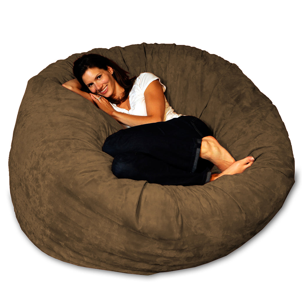 Theater Sacks 5' Large Bean Bag Chair - Earth Brown
