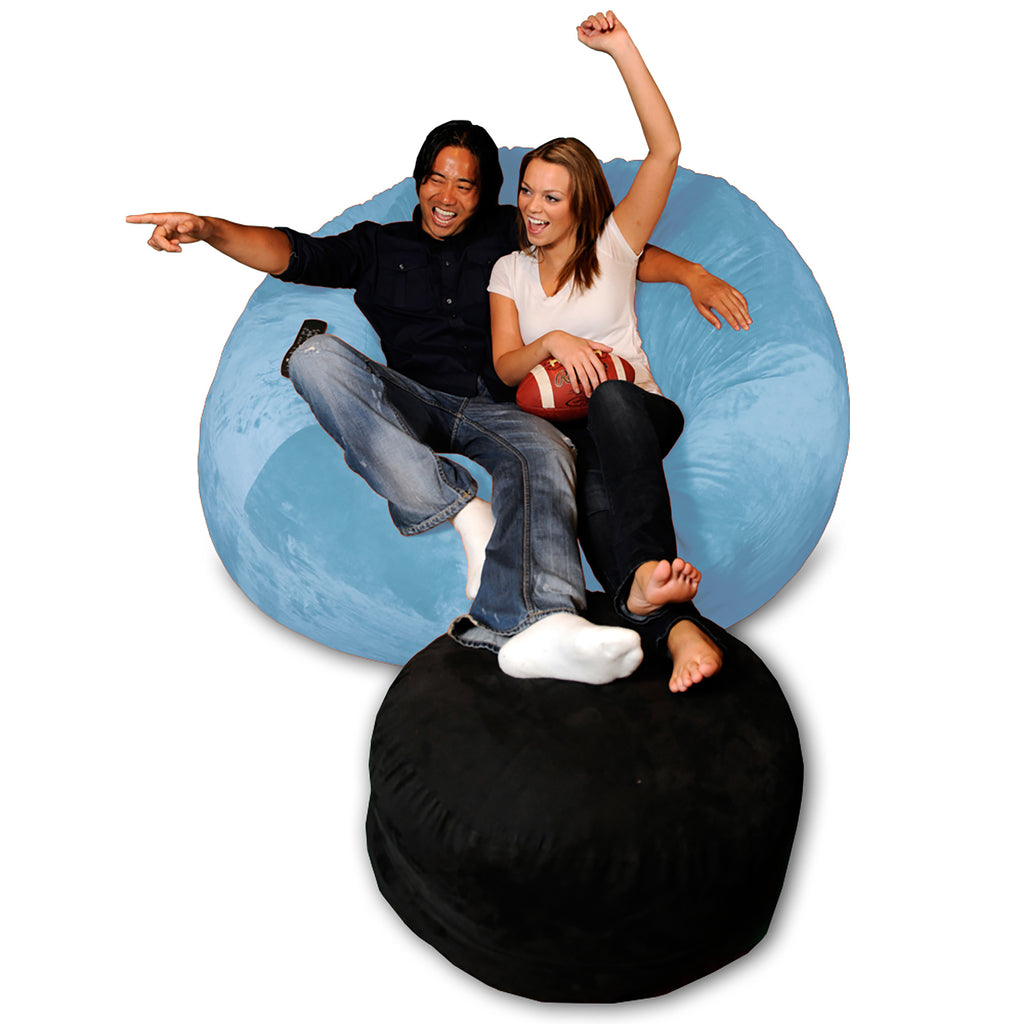 Theater Sacks 6' Giant Bean Bag Chair - Sky Blue