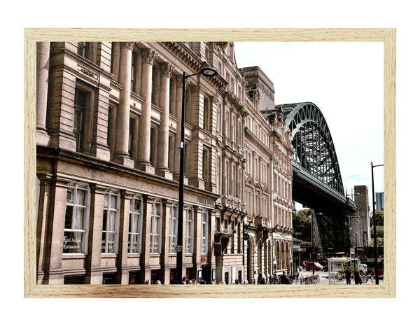 Quayside Bridge Print
