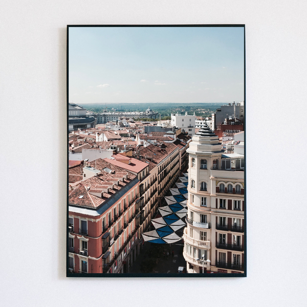 Madrid Center Print