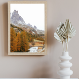 Alps Mountains Print
