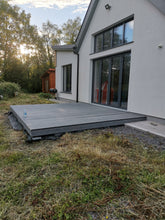 Load image into Gallery viewer, Composite Decking Boards DARK GREY 4 meters x 150mm x 24mm