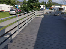 Load image into Gallery viewer, Composite decking board ANTRACITE 4 meters x 150mm x 24mm