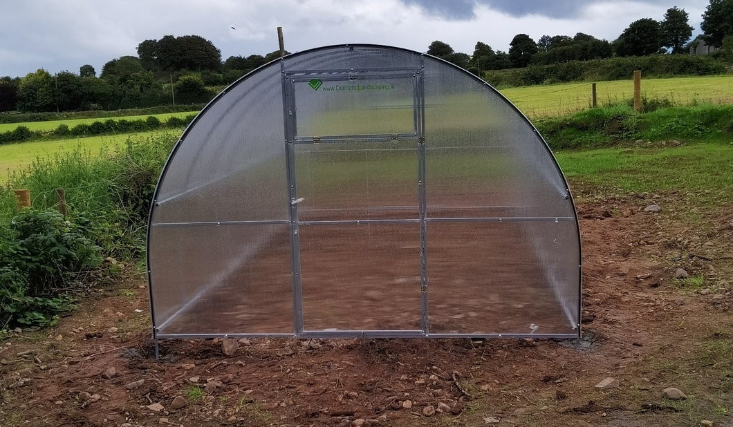 GREENHOUSE EXTRA STRONG 3m X 6m (9.8ft X 20ft) 18 M²