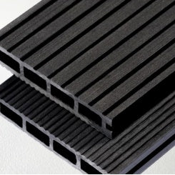 Composite decking board ANTRACITE 4 meters x 150mm x 24mm