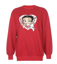 Load image into Gallery viewer, Betty Boop Sweatshirt