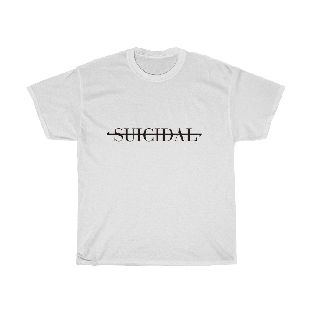 SUICIDAL Unisex Heavy Cotton Tee