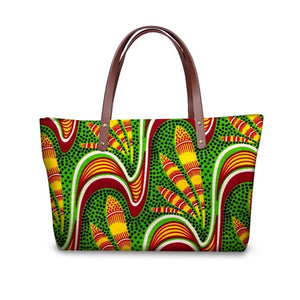 Women's Top-Handle Bag African Traditional Printing Handbags