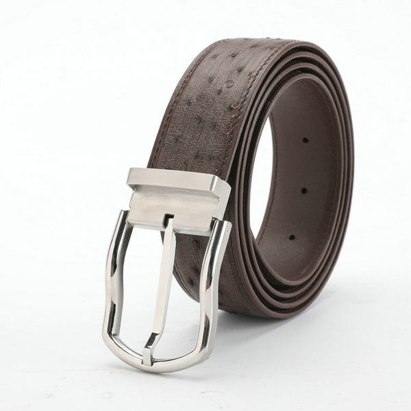Men's Luxury South African Ostrich Leather Belt - Moses Chikoti