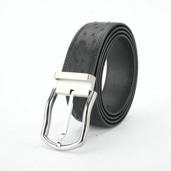 Men's Luxury South African Ostrich Leather Belt
