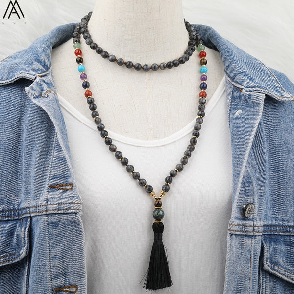 Natural Handmade African Turquoise Beads Necklace