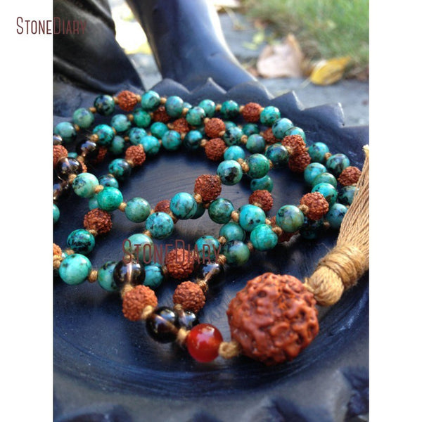Handmade African Mala Necklace