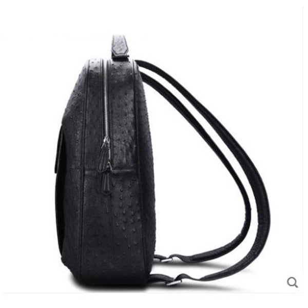 Men's South African Ostrich Leather Bag/Backpack