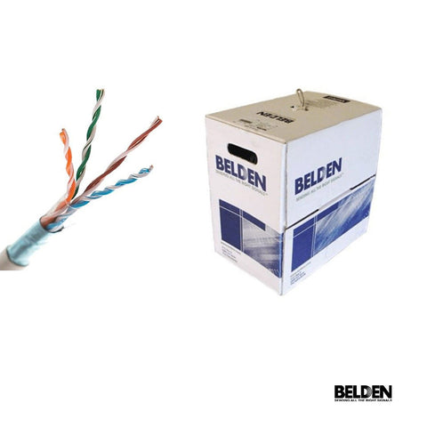Cable UTP Cat5E Belden Azul 1000 Pies