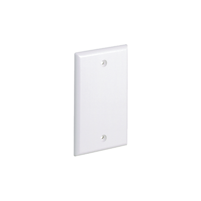 Placa de Pared Linkedpro Ciega Universal Color Blanco