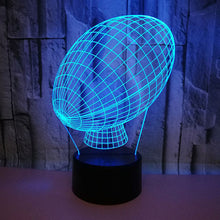 Load image into Gallery viewer, Football 3D Led Lamp 7 Colors Night Illusion Light Gift