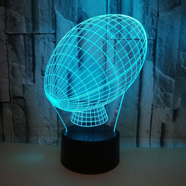Football 3D Led Lamp 7 Colors Night Illusion Light Gift