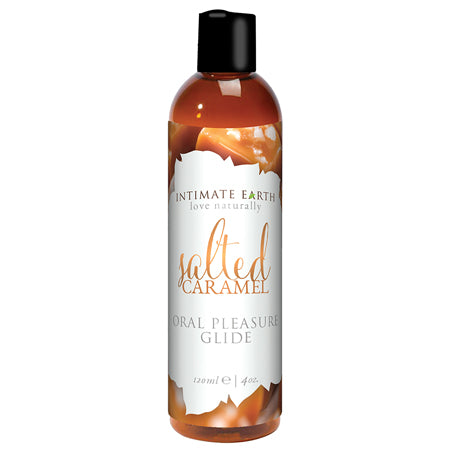 Intimate Earth Sea Salt Caramel Flavored Glide 120ml.