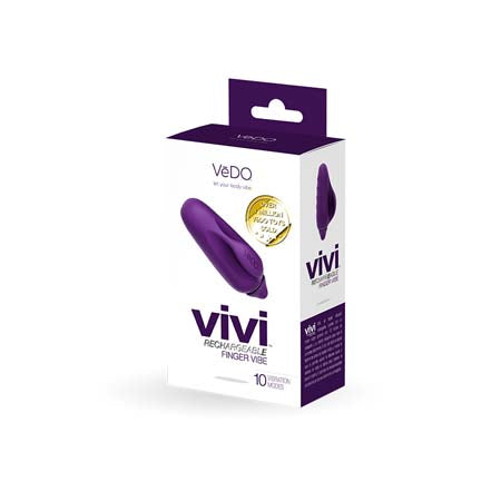 Vedo Vive Finger Vibe Deep Purple