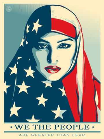 """We The People"" Poster by Shepard Fairey"