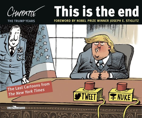 This is the End The Last Cartoons from The New York Times By Patrick Chappatte