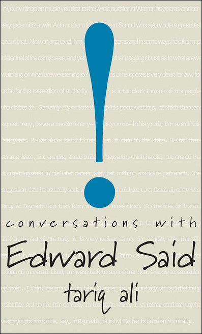 Conversations with Edward Said by Tariq Ali